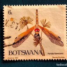 Sellos: BOTSWANA. YVERT 485. FLORA. FLORES. Lote 289301578
