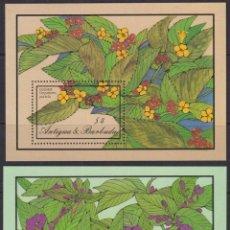 Sellos: F-EX26741 ANTIGUA & BARBUDA MNH 1986 FLOWER FLORES. Lote 293581963