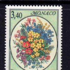 Sellos: MONACO 1815** - AÑO 1992 - FLORA - FLORES - CONCURSO INTERNACIONAL DE RAMOS. Lote 295336063