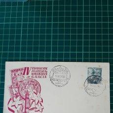 Sellos: 1953 BARCELONA MATASELLO FLORES FLORA IV EXPOSICIÓN FILATÉLICA GRACIA. Lote 295568383