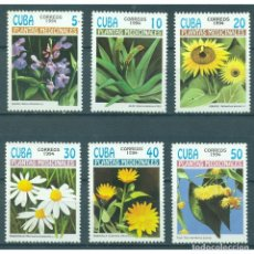 Sellos: ⚡ DISCOUNT CUBA 1994 THE MEDICINAL PLANTS MNH - FLOWERS, MEDICINAL PLANTS. Lote 295942173