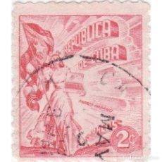 Sellos: ⚡ DISCOUNT CUBA 1948 HAVANA TOBACCO INDUSTRY U - FLAGS, TOBACCO. Lote 295951353