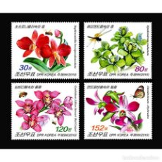 Sellos: ⚡ DISCOUNT KOREA 2010 ORCHIDS MNH - ORCHIDS. Lote 295959558