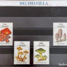Sellos: FLSE090, AUSTRALIA, SETAS, 1981, 742/45. Lote 296946908