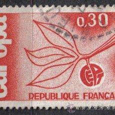 Sellos: FRANCIA 1965 - 0.3 F - YVERT 1455 - EUROPA - USADO. Lote 8083380