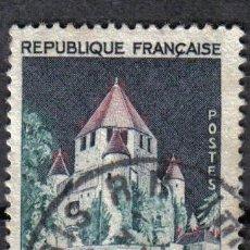 Sellos: FRANCIA 1963 - 0.7 F - YVERT 1392A - TORRE DE CESAR - USADO. Lote 8084265