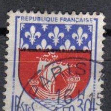 Sellos: FRANCIA 1962 - 0.3 F - YVERT 1354B - PARIS - USADO. Lote 8084433