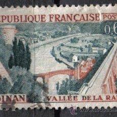 Sellos: FRANCIA 1961 - 0.65 F YVERT 1315 - DINAN - USADO. Lote 8086701