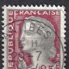 Sellos: FRANCIA 1960 - 0.25 F YVERT 1263 - MARIANA DE DECARIS - USADO. Lote 8086805