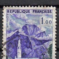 Sellos: FRANCIA 1960 - 1 F YVERT 1241 - REUNION - USADO. Lote 8086813