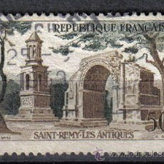 Sellos: FRANCIA 1957 - 50 F YVERT 1130 - ST REMY LES ANTIQUES - USADO. Lote 8086922