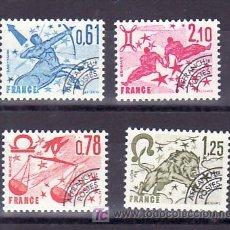 Sellos: FRANCIA PRE-OBLITERADO 154/7 SIN CHARNELA, SIGNO DEL ZODIACO, SAGITARIO, LIBRA, LEO, GEMINIS, . Lote 10487943