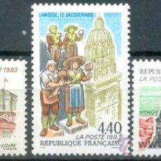 Sellos: FRANCIA IVERT Nº 2825/7, SERIE TURÍSTICA, SELLO NUEVO ***. Lote 8745382