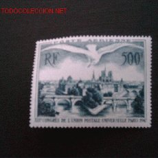 Sellos: FRANCIA, Nº YVERT AEREO 20. AÑO 1947. Lote 23250591
