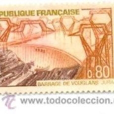 Sellos: 2FRA-1583. SELLO USADO FRANCIA. YVERT Nº 1583. BARRAGE DE VOUGLANS. Lote 13416156