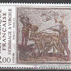 Sellos: FRANCIA IVERT Nº 2174, HOMENAJE A VIRGILIO, NUEVO. Lote 17862089