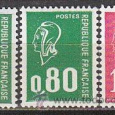 Sellos: FRANCIA IVERT Nº 1891/3, MARIANNE DE BEQUET, NUEVO. Lote 288510228