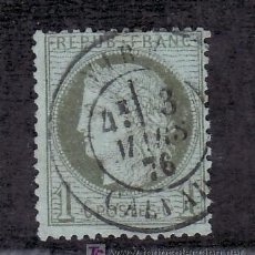 Sellos: FRANCIA 50 USADA, MATASELLO FECHADOR . Lote 20111686