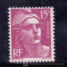 Sellos: FRANCIA 724 CON CHARNELA, MARIANNE DE GANDON. Lote 20293334