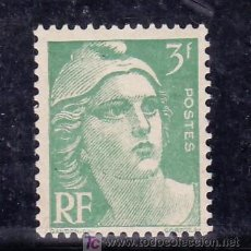 Sellos: FRANCIA 716A SIN CHARNELA, MARIANNE DE GANDON. Lote 20293344