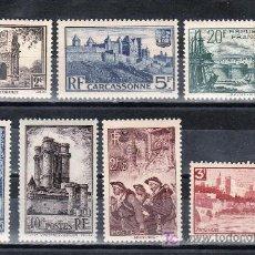 Sellos: FRANCIA 388/94 CON CHARNELA, . Lote 20353596