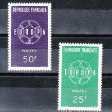 Sellos: FRANCIA 1218/9 SIN CHARNELA, TEMA EUROPA. Lote 20455097