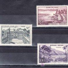 Sellos: FRANCIA 1192/4 CON CHARNELA, TURISMO,. Lote 20458756