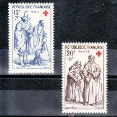 Sellos: FRANCIA 1140/1 SIN CHARNELA, CRUZ ROJA. Lote 20465573