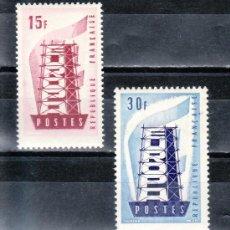 Sellos: FRANCIA 1076/7 SIN CHARNELA, TEMA EUROPA . Lote 20466389