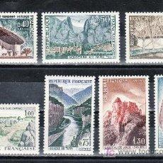 Sellos: FRANCIA 1435/41 SIN CHARNELA, TURISMO, . Lote 164901820