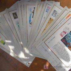 Sellos: GRAN LOTE 70 DOCUMENTOS FILATELICOS DE FRANCIA****.VER FOTOS ADICIONALES.. Lote 26963076