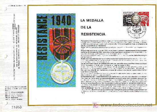 Sellos: GRAN LOTE 70 DOCUMENTOS FILATELICOS DE FRANCIA****.VER FOTOS ADICIONALES. - Foto 3 - 26963076