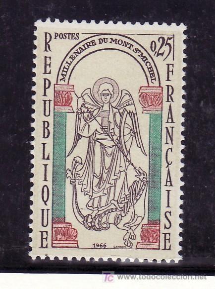 FRANCIA 1482 SIN CHARNELA, MILENARIO DEL MONT-DAINT-MICHEL (Sellos - Extranjero - Europa - Francia)