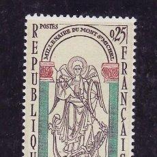 Briefmarken - francia 1482 sin charnela, milenario del mont-daint-michel - 33334295