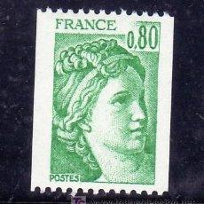 Sellos: FRANCIA 1980 SIN CHARNELA, SABINA . Lote 20578012