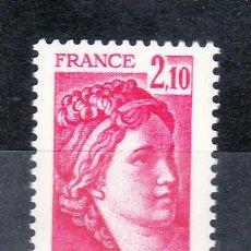 Sellos: FRANCIA 1978 SIN CHARNELA, SABINA . Lote 20578034