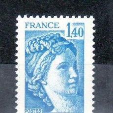 Sellos: FRANCIA 1975 SIN CHARNELA, SABINA . Lote 20578049