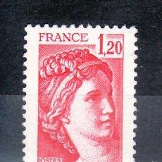 Sellos: FRANCIA 1974 SIN CHARNELA, SABINA . Lote 20578056