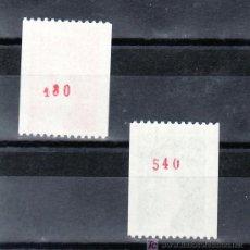 Sellos: FRANCIA 2103A/4A Nº ROJO AL DORSO SIN CHARNELA, SABINA . Lote 20604142
