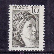 Sellos: FRANCIA 2057 SIN CHARNELA, SABINA . Lote 20605749