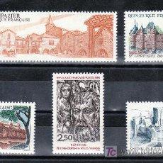 Sellos: FRANCIA 2401/5 SIN CHARNELA, TURISMO, . Lote 20660013