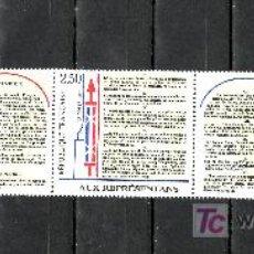 Sellos: FRANCIA 2605A SIN CHARNELA, BICENTENARIO DE LA DECLARACION DE LOS DERECHOS HUMANOS Y DEL CIUDADANO,. Lote 20696083