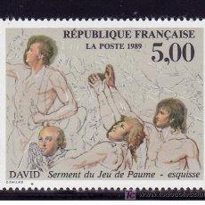 Sellos: FRANCIA 2591 SIN CHARNELA, BICENTENARIO DE LA REVOLUCION Y DECLARACION DERECHOS HUMANOS Y CIUDADANOS. Lote 20694981