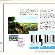 Sellos: FRANCIA 1864 DOCUMENTO C.E.F. 349 PRIMER DIA, REGION DE AQUITAINE . Lote 20951703