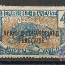 Sellos: COLONIA FRANCESA DEL CONGO.. Lote 20984989