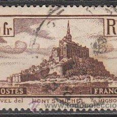 Sellos: FRANCIA IVERT Nº 260, MONTE DE SAINT MICHEL (AÑO 1929-31), USADO. Lote 114335342