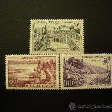 Sellos: FRANCIA 1959 IVERT 1192/4 * SERIE TURISTICA - PAISAJES Y MONUMENTOS. Lote 25991604