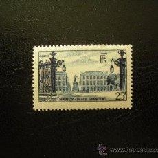 Sellos: FRANCIA 1948 IVERT 822 *** PLAZA STANISLAS EN NANCY - MONUMENTOS. Lote 23357196