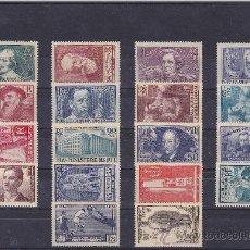 Sellos: SELLOS FRANCIA - LOTE AÑOS 1938 Y 1939 MNH - LUJO. Lote 25237456