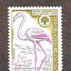 Sellos: FRANCIA***1970.NUEVO.YVERT NR.1634.FAUNA.AVES.. Lote 25435564